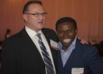 SOF Committee Member Phil Currie with Pinball Clemons