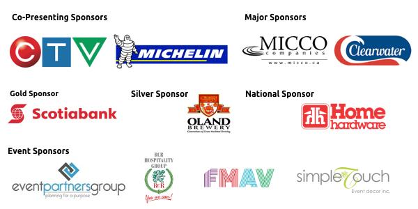 SO Gala sponsors 2017