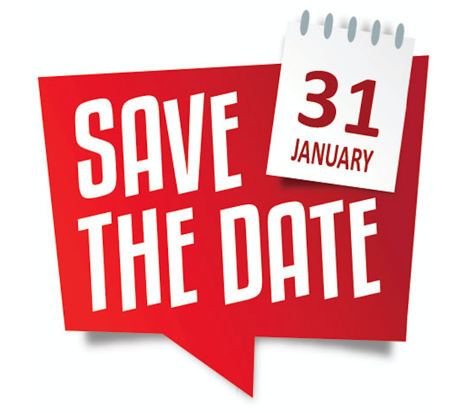 Save The Date Jan The Inspired Gala January - 31 jan